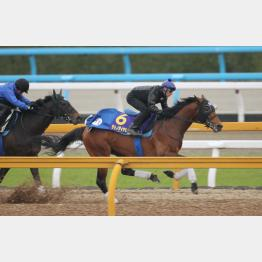 馬なりで1F11秒9