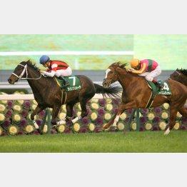京都金杯では牡馬を蹴散らした