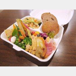 お昼のお弁当は1000円