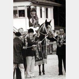 あのオグリキャップも故・瀬戸口調教師が管理していた(1990年の有馬記念で)