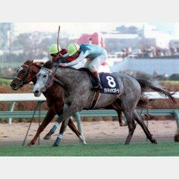 勝ったのはアドマイヤコジーンだった(1998年の朝日杯3歳S)