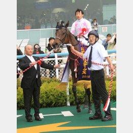 阪神牝馬Sを勝って重賞3連勝