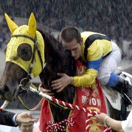 03年、愛馬ネオユニヴァースが2冠達成後に挑んで…