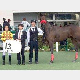 昨年、岩田騎手で新馬戦を勝った愛場のレナータ