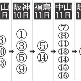 【WIN5】波乱のハンデ戦をクリアして桜1点締め