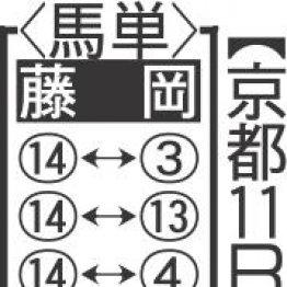 【土曜京都11R・彦根S】¥線¥にへの短縮も大丈夫 ヤマカツグレース好勝負