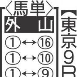 【日曜東京9R・日吉特別】東京戻りでアメイズミー末脚全開