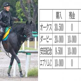エプソムCは馬連三つ巴に6000円