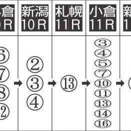 【田中の日曜競馬コラム・WIN5】