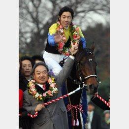 ラストランの06年有馬記念でGⅠ7勝目を達成