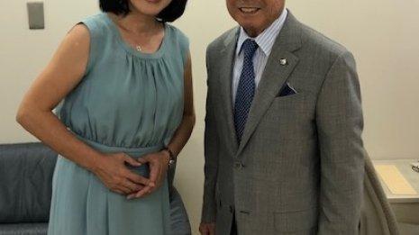 〈39〉先日、ウインズ高松のイベントでご一緒した池江泰郎元調教師(3)