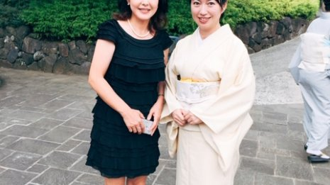 〈43〉元グリーンチャンネルのキャスターで親友の小川真由美さん(2)