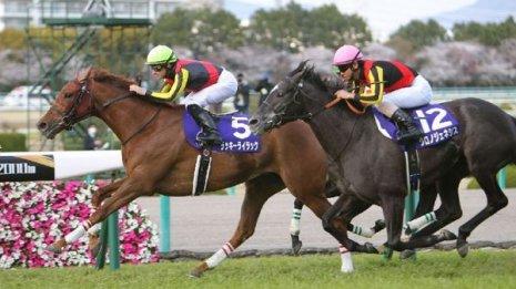 【大阪杯】牝馬ラッキーライラックがGⅠ3勝目