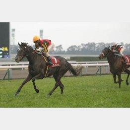 昨年の勝ち馬クロノジェネシスはここから一気に飛躍