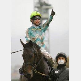 昨年の勝ち馬はデアリングタクト