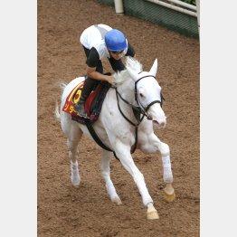 馬なりで1F12秒2