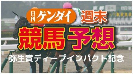 第57回 弥生賞ディープインパクト記念(3/8・中山11レース・GⅡ)