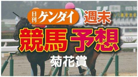 第81回 菊花賞(10/25・京都11レース・GⅠ)