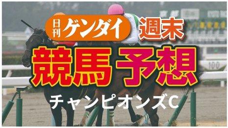 第21回チャンピオンズC(12/6・中京11レース・GⅠ)