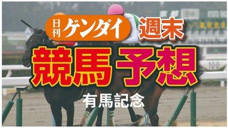 第65回 有馬記念(12/27・中山11レース・GⅠ)