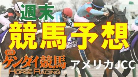第62回アメリカJCC(1/24・中山11レース・GⅡ)