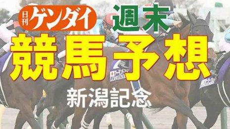 第57回 新潟記念(8/5・新潟11レース・GⅢ)